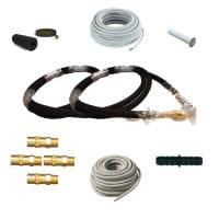 RaumSet KlimaLock 2-6m mit Flex- Leitung und Zubehör