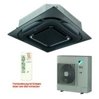 Daikin Klimaanlage Deckenkassette FCAHG71H-5 Design/schwarz +RZAG71MV1 6,8 kW Kühlen