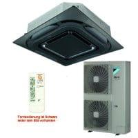 Daikin Klimaanlage Deckenkassette FCAHG125H-5 Design/schwarz +RZAG125MV1 12,1 kW Kühlen