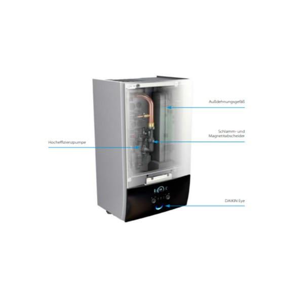 DAIKIN Altherma 3H HT W Innengerät ETBX16E9W 9 kW (Heizen/Kühlen)