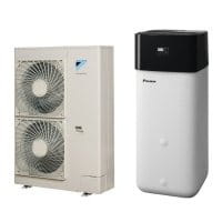 DAIKIN Altherma R ECH2O 516 H/C BIV EHSXB16P50B+ERLQ014CW1 inkl. integriertem 500L Speicher 14 kW