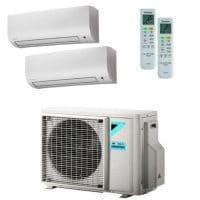 Daikin Klimaanlage Comfora 1x FTXP20M + 1x FTXP35M + Außengerät 2MXM40N 4,0 kW Kühlen - R32