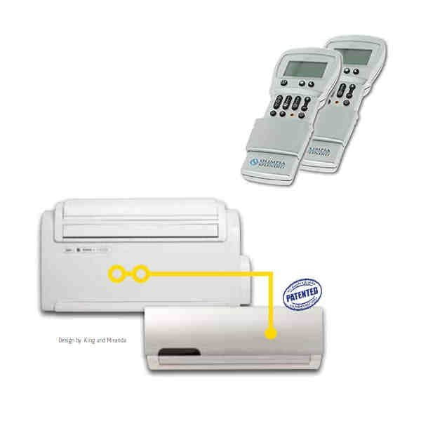 Klimaanlage UNICO TWIN - Master/WALL als Kompaktgerät mit 2,6 kW Kühlen / 2,5 kW Heizen