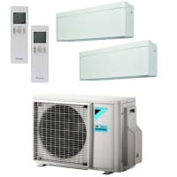 Daikin Klimaanlage Stylish 1x FTXA20AW + 1x FTXA35AW + Außengerät 2MXM50M9 5,0 kW Kühlen - R32