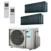 Daikin Klimaanlage Stylish 1x FTXA20BT + 1x FTXA25BT + Außengerät 2MXM40N 4,0 kW Kühlen - R32