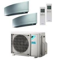 Daikin Klimaanlage Emura 1x FTXJ25MS + 1x FTXJ50MS + Außengerät 2MXM50M9 5,0 kW Kühlen - R32