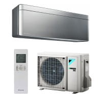 Daikin Klimaanlage Stylish FTXA25BS/RXA25A/silber 2,5/2,8 kW Kühlen/Heizen - R32
