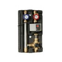 Sunex zweiwege-Heizkreisstation (Pumpengruppe) mit Dreiwege-Mischventil GPO M DN20