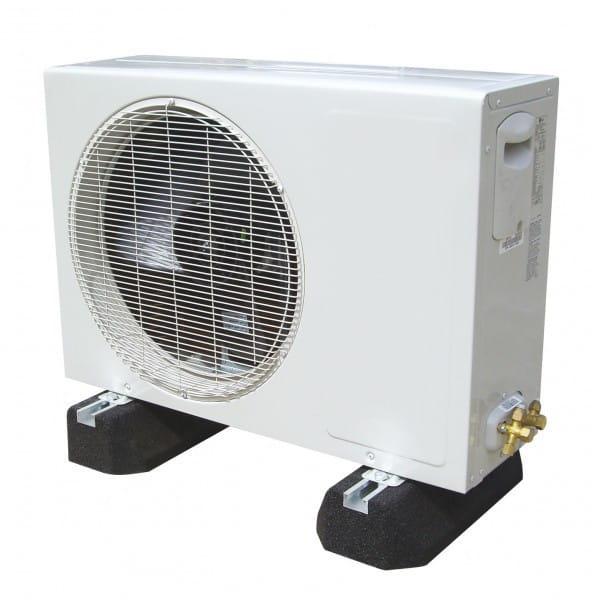 Klimaanlagen Aufstellbalken - Dämpfungssockel inkl. Schraubsatz 600mm Länge