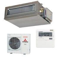 Mitsubishi Heavy Klimaanlage FDUM 125 VH/FDC 125 VSA mit 12,5 kW Kühlen