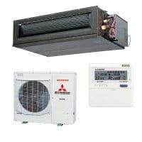 Mitsubishi Heavy Klimaanlage FDU 125 VH/FDC 125 VSA mit 12,5 kW Kühlen