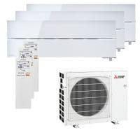 Mitsubishi Electric 3xMSZ-LN18VG2W+MXZ-3F54VF3 - 5,4/7,0 kW Kühlen/Heizen - R32
