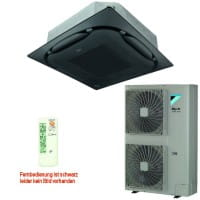 Daikin Klimaanlage Deckenkassette FCAHG140H-3 Standard schwarz +RZAG140MV1 13,4 kW Kühlen