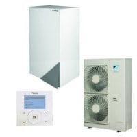 DAIKIN Altherma Wärmepumpe-Set EHBH16CB9W+ERLQ014CW1+EKRUCBL1/14,5 kW/Heizen