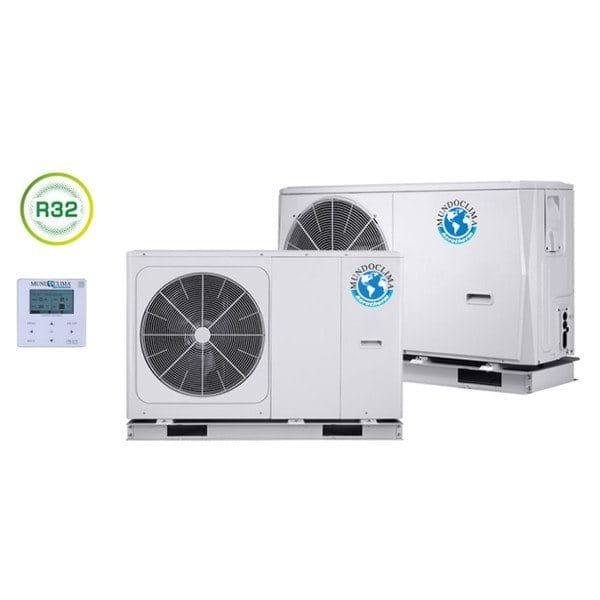 MundoClima Monoblock Wärmepumpe MAM-14-V10T/SO30208 12,40/14,50 kW Kühlen/Heizen 380V- R32
