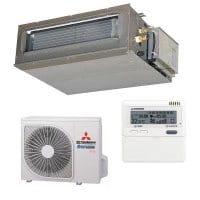Mitsubishi Heavy Klimaanlage FDUM 40 VH/SRC 40 ZSX-S mit 4,0 kW Kühlen