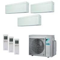 Daikin Klimaanlage Stylish 1x FTXA25AW+2x FTXA35AW+3MXM68N 6,8 kW Kühlen - R32
