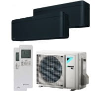 Daikin Klimaanlage Stylish 1x FTXA20BB + 1x FTXA35BB + Außengerät 2MXM50M9 5,0 kW Kühlen - R32