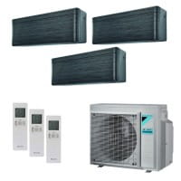 Daikin Klimaanlage Stylish 1x FTXA20BT+1x FTXA25BT+1x FTXA35BT+3MXM52N 5,2 kW Kühlen - R32