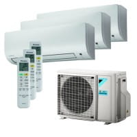Daikin Klimaanlage Comfora 2x FTXP25M9+1xFTXP20M9+3MXM68N9 6,8 kW Kühlen - R32