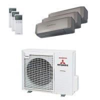 Mitsubishi Heavy Trio-Split Klimaanlage 8 kW Kühlen: 3x 3,5 kW SRK ZS-WT + SCM 80 ZM-S