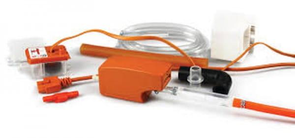 Aspen Mini Orange Silent+ Tauwasserpumpe - nur 19dB(A) FP 3313 - Komplett SET