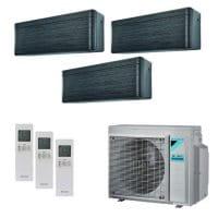 Daikin Klimaanlage Stylish 2x FTXA20BT+1x FTXA25BT+3MXM68N 6,5 kW Kühlen - R32