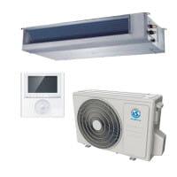 MundoClima MUCR-18-H9 Mono-Split Klimaanlage im Set 5,3/4,3 Kühlen/Heizen inkl.KB-FB-R32