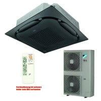 Daikin Klimaanlage Deckenkassette FCAG125B-3 Standard/schwarz +RZAG125MV1 12,1 kW Kühlen