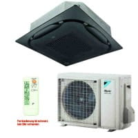 Daikin Klimaanlage Deckenkassette FCAG50B-3 Standard/schwarz +RZAG50A 5 kW Kühlen