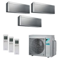 Daikin Klimaanlage Stylish 2x CTXA15BS+1x FTXA35BS+3MXM52N 5,2 kW Kühlen - R32