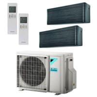 Daikin Klimaanlage Stylish 1x FTXA25BT + 1x FTXA35BT + Außengerät 2MXM40N 4,0 kW Kühlen - R32