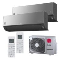 LG Duo Split Klimaanlage Artcool Energy 2x AC09BT.NSJ+ MU2R15.OL0 2x (PQWRHQ0FDB) 4,1 kW
