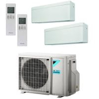 Daikin Klimaanlage Stylish 2x FTXA25AW + Außengerät 2MXM50M9 5,0 kW Kühlen - R32