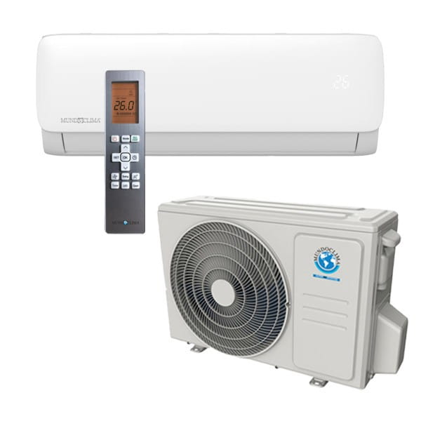 MundoClima MUPR-24-H11 Mono-Split Klimaanlage 7,0/7,3 Kühlen/Heizen inkl.IR-FB-R32