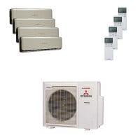 Mitsubishi Heavy Quattro-Split Klimaanlage 7,1 kW : 2x2 kW + 2x2,5 kW SRK ZSX-WT+SCM 71 ZM-S