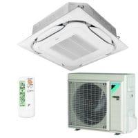 Daikin Klimaanlage Deckenkassette FCAG50B-1 weiss/konvenzionell +RXM50N9 5 kW Kühlen
