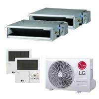 LG Duo Split Klimaanlage 2x CL12F.N50+1x MU2R17.OL0 2x (PREMTB001) 4,7 kW Kühlen - R32