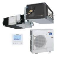 Mitsubishi Electric Lossnay SET LGH-100RVX-E+GUG-02SL-E+PUHZ-ZRP71VHA 7,1/8,1 kW Kühlen/Heizen