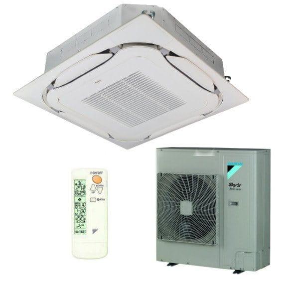 Daikin Klimaanlage Deckenkassette FCAG71B-1 weiss/konvenzionell +RZAG71MV1 6,8 kW Kühlen