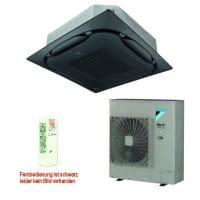 Daikin Klimaanlage Deckenkassette FCAHG71H-3 Standard schwarz +RZAG71MV1 6,8 kW Kühlen