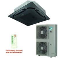 Daikin Klimaanlage Deckenkassette FCAHG125H-3 Standard schwarz +RZAG125MV1 12,1 kW Kühlen
