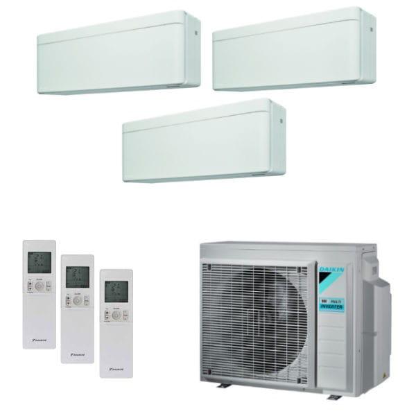 Daikin Klimaanlage Stylish 2x CTXA15AW+1x FTXA35AW+3MXM52N 5,2 kW Kühlen - R32
