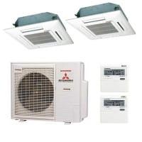 Mitsubishi Heavy Klimaanlage 2x FDTC 35 VF + 1x SCM 71 ZM-S 7,1 kW Kühlen / 8,6 kW Heizen