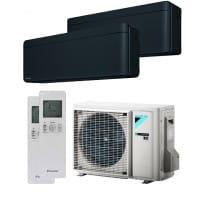 Daikin Klimaanlage Stylish 1x CTXA15BB + 1x FTXA20BB + Außengerät 2MXM40N 3,5 kW Kühlen - R32