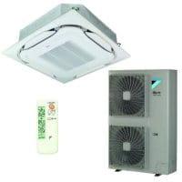 Daikin Klimaanlage Deckenkassette FCAHG125H-2 +RZAG125MV1 12,1 kW Kühlen- R32 /IR-FB