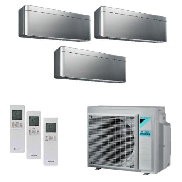 Daikin Klimaanlage Stylish 2x FTXA25BS+1x FTXA50BS+3MXM68N 6,8 kW Kühlen - R32