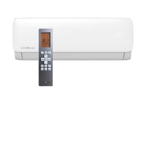MundoClima MUPR-12-H11 Mono-Split Klimaanlage im Set 3,5/3,8 Kühlen/Heizen inkl.IR-FB-R32