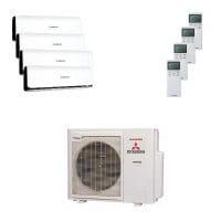 Mitsubishi Heavy Quattro-Split Klimaanlage 7,1 kW : 3x 2,5 kW + 1x 5 kW SRK ZSX-WB + SCM 71 ZM-S