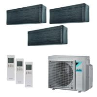 Daikin Klimaanlage Stylish 1x CTXA15BT+1x FTXA20BT+1x FTXA25BT+3MXM68N 6,0 kW Kühlen - R32